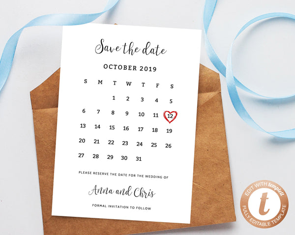 photo regarding Save the Date Printable named Prompt Down load Help you save the Day, Conserve the Day Template, Preserve the Day Printable, Preserve the Day Calendar, Wedding day Template, Templett