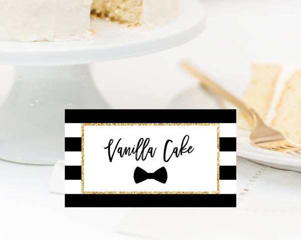 Mr. Onederful One Place Cards, Food Sign, First Birthday Party Favor Sign, Mr. Onederful Party Favor Sign, Table Signs, Templett, B02