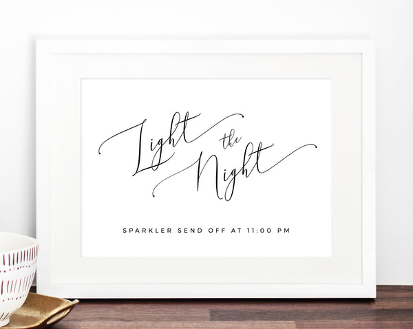 photo relating to Printable Wedding Signs identify Sparkler Indicator Template, Sparkler Send out Off Printable, Wedding day
