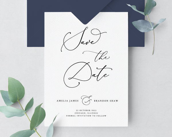 picture regarding Printable Save the Dates Templates named Preserve The Dates paperandthings