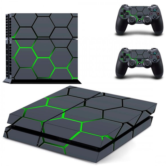 Console Skin - Green Hex - ALLE CONSOLES - GameMore.nl
