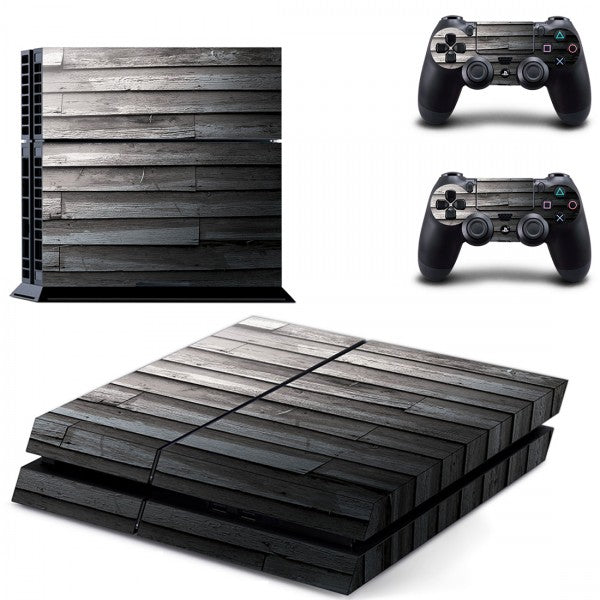 Console Skin - Black Wood - ALLE CONSOLES - GameMore.nl