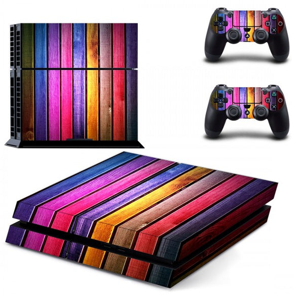Console Skin - Rainbow Wood - ALLE CONSOLES - GameMore.nl