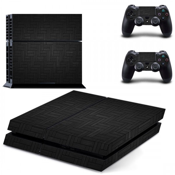 Console Skin - Abstract Black - ALLE CONSOLES - GameMore.nl