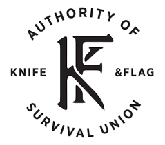 Knife and flag Aprons