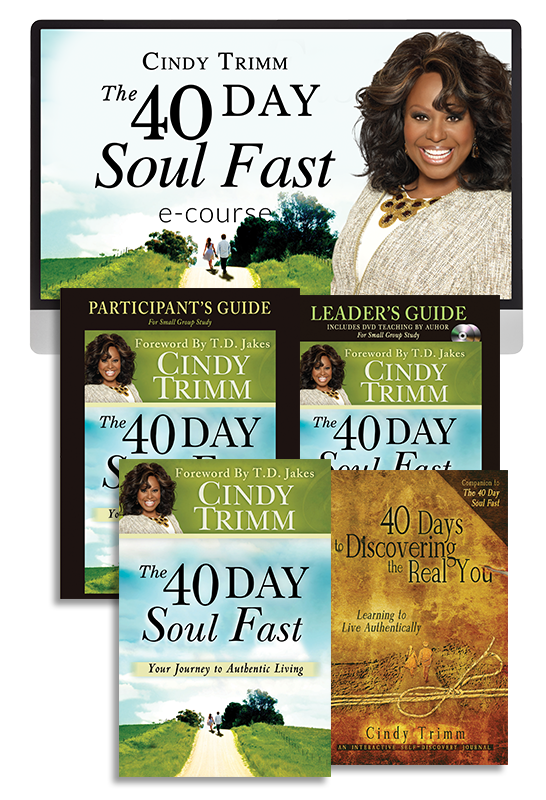 40 Day Soul Fast Ecourse with Dr. Cindy Trimm (Digital Product)