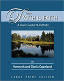 Faith to Faith Devo. Large Print