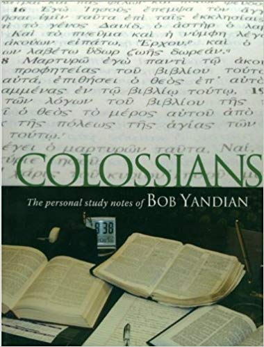 Colossians Study Notes - O/P