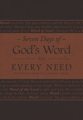Seven Days of God's Word for Every Need