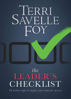 The Leader's Checklist: 10 Action Steps to Inspire Your Team for Success