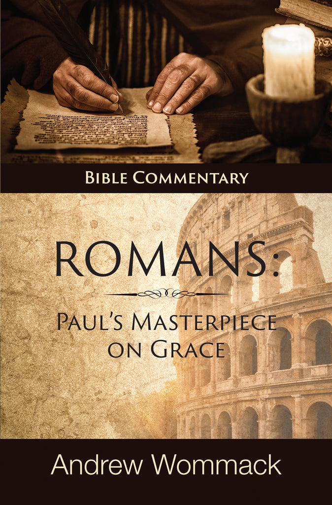 Roman's: Paul's Masterpiece on Grace: Bible Commentary (Hardcover)