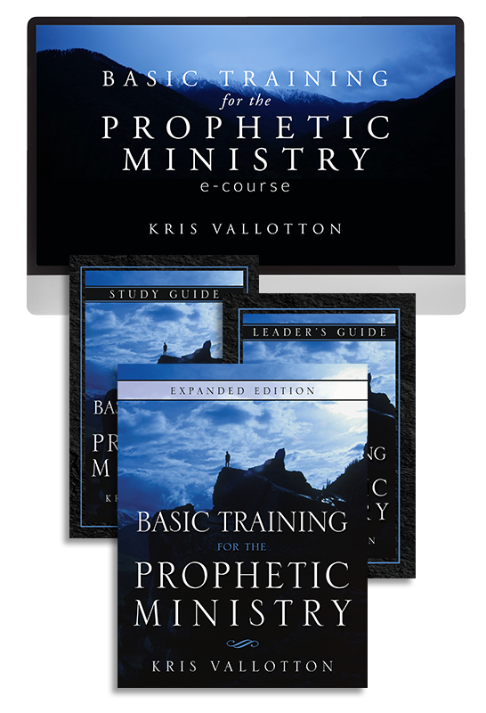 Basic Training for the Prophetic Ministry Ecourse with Kris Vallotton (Digital Product)