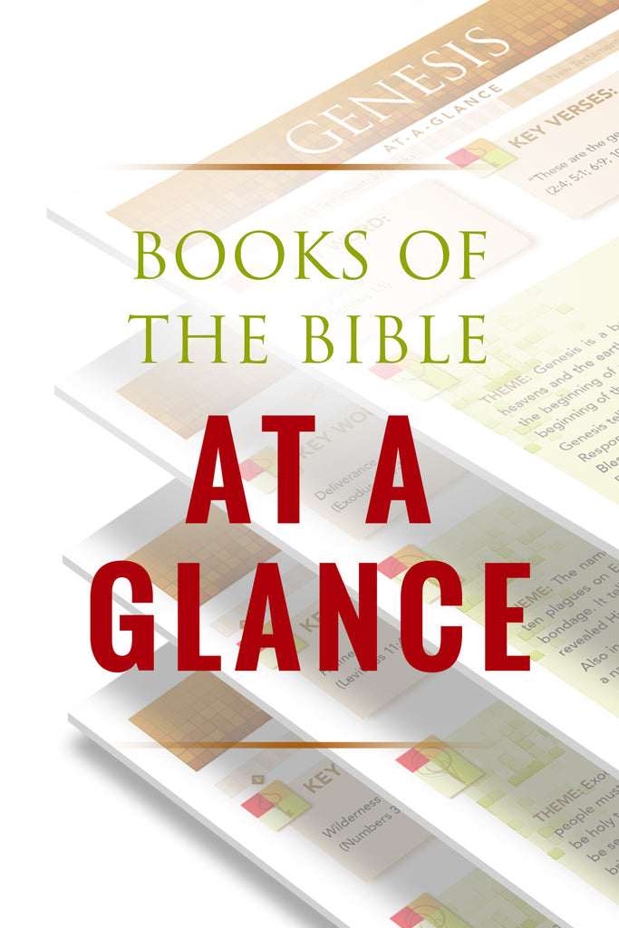 Books of the Bible At-A-Glance - Free Bible Summary Pages (PDF)