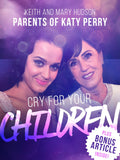 Cry for Your Children - Free Feature Message