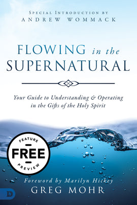 Flowing in the Supernatural Feature Message (PDF Download)