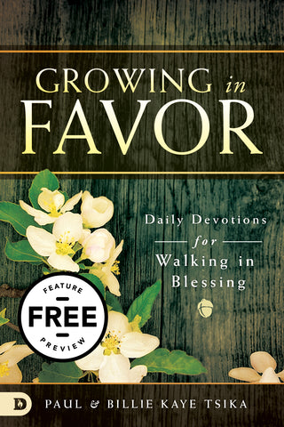 Growing in Favor: Daily Devotions for Walking in Blessing Free Feature Message (PDF Download)