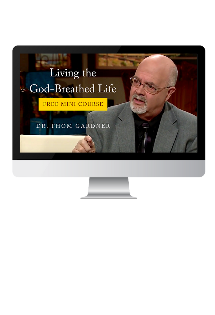 Living the God-Breathed Life Free Mini Course and Book (Digital Product)