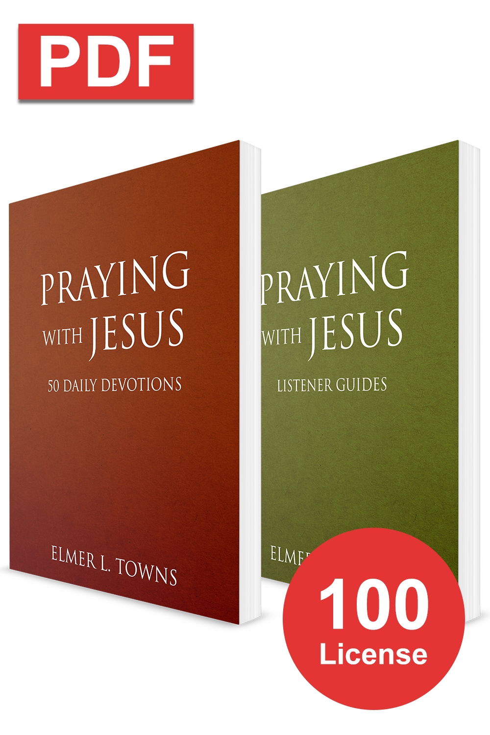 Praying with Jesus Congregation Bundle (100 License) (Digital Download)