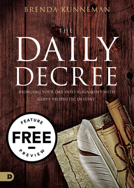 The Daily Decree Free Feature Message (PDF Download)