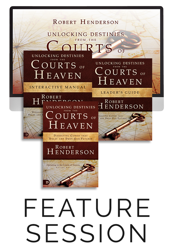 Unlocking Destinies from the Courts of Heaven Feature Session with Companion Study Materials (Digital Product)