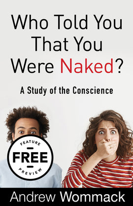 Who Told You That You Were Naked?: A Study of the Conscience Feature Message (Digital Download)