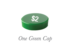 Green Replacement Caps