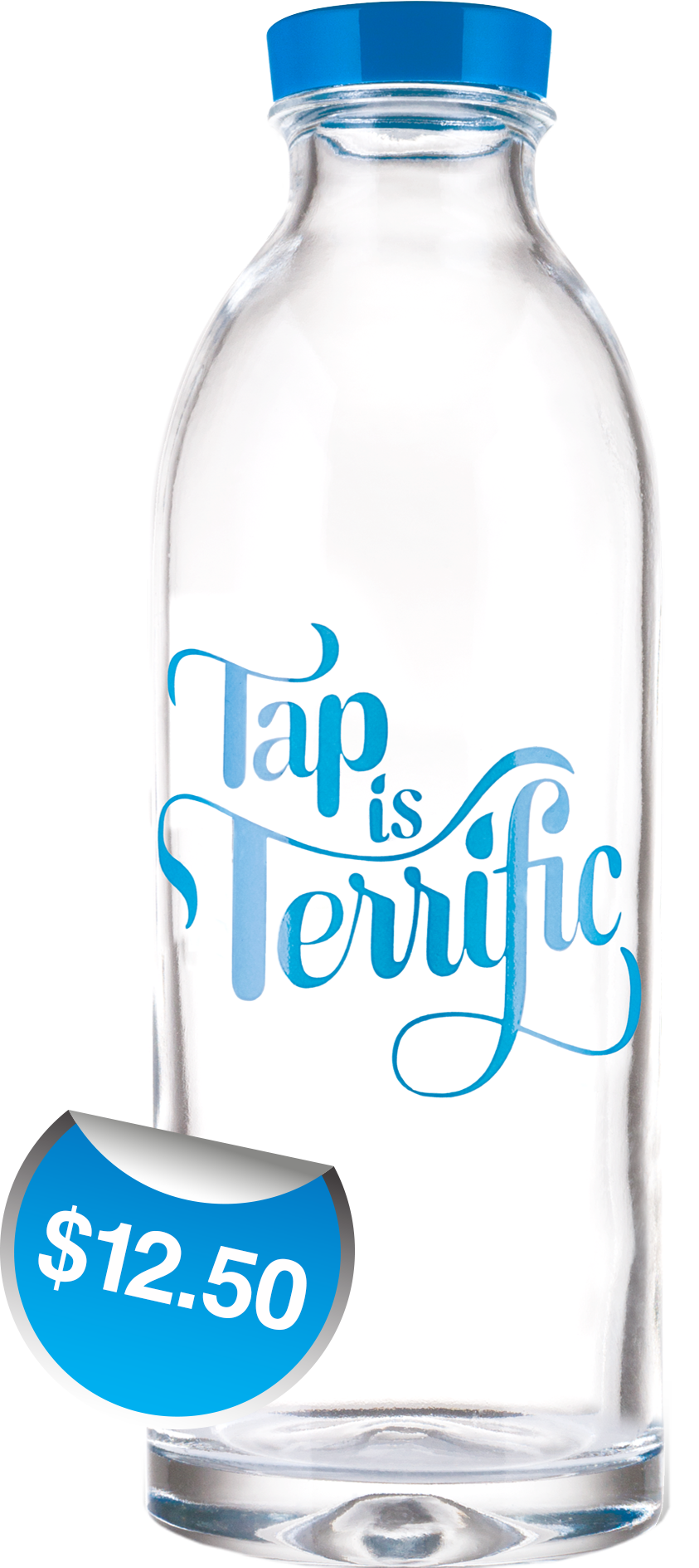 Tap is Terrific Classic Water Bottle