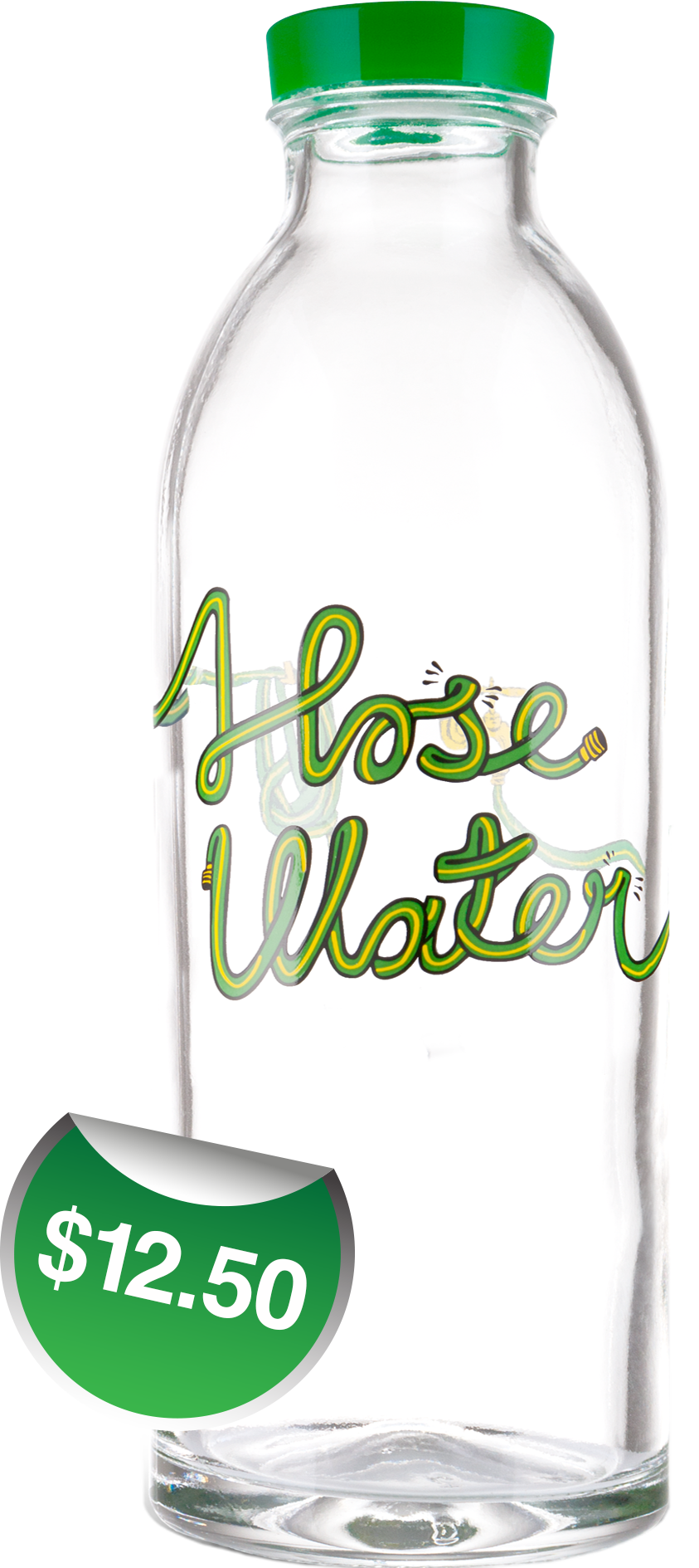 Hose Classic glass water bottle