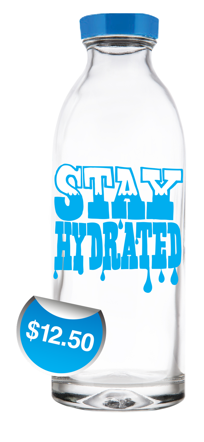Stay Hydrated Exclusive Design Water Bottles