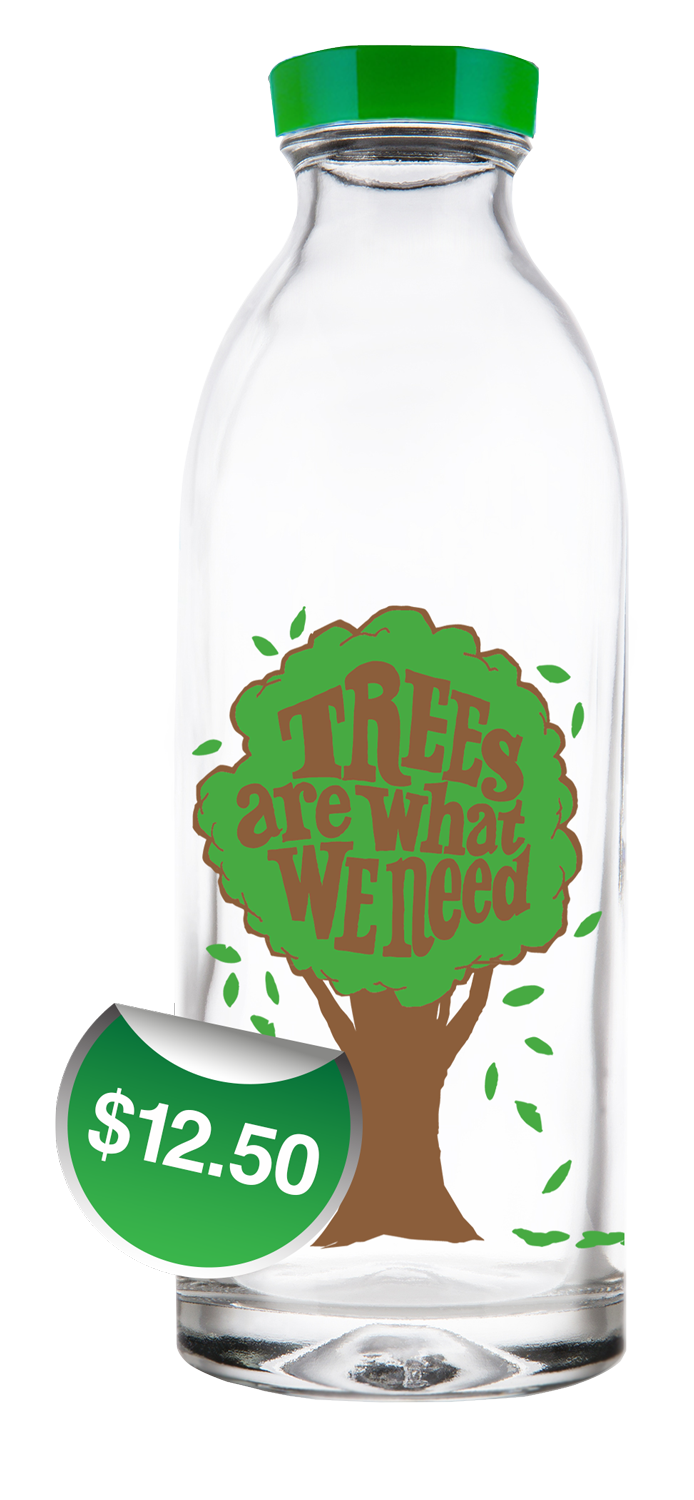 Exclusive Trees Designed Water Bottles