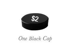 Black Replacement Bottle Cap