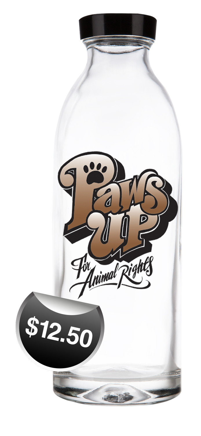 Exclusive Design Paws Up Water Bottles