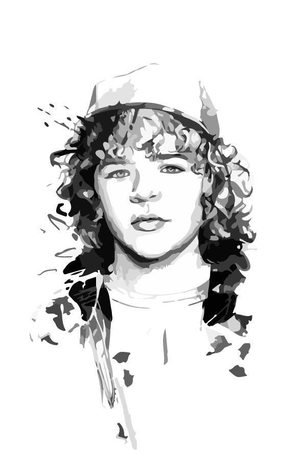 Design original tshirt Stranger Things Dustin