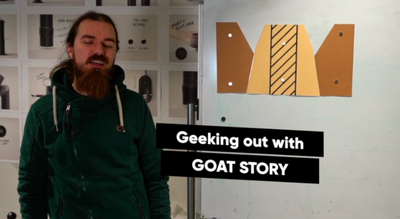 Geeking out with GOAT STORY