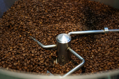The beauty of roasting coffee