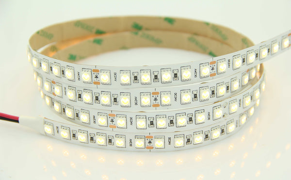 5050SMD Series 96LEDS 16.4ft 5M LED Flexible Strip (2400-6500K) High Quality DC24