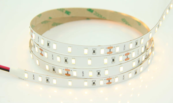 5630SMD Series 72LEDS 16.4ft 5M LED Flexible Strip (2700-6500K) High Quality DC24V