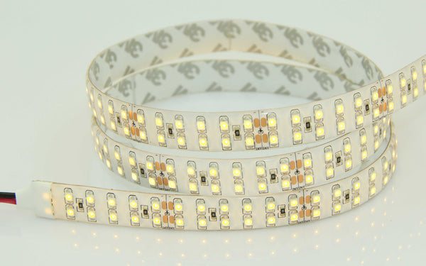 16.4ft 5M High Quality 3528SMD Series LED Flexible Strip DUAL LINE 240LEDS  (2400-6500K)