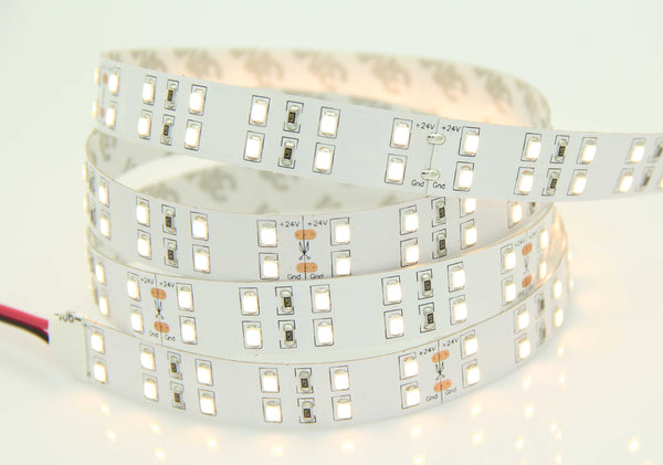 2835SMD Series 144LEDS 16.4ft 5M LED Flexible Strip (2400-6500K) High Quality