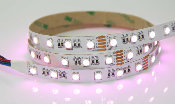 5050SMD Series 60LEDS 16.4ft 5M RGBW 4 IN 1  LED Flexible Strip High Quality