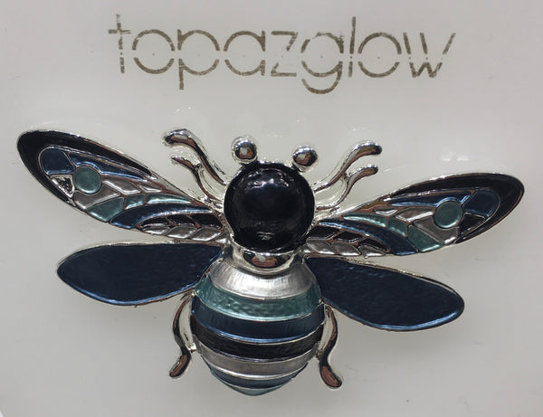 Magnetic Bee-design Brooch