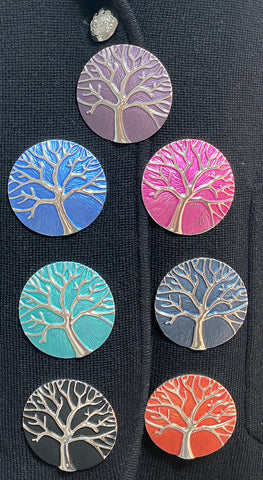 Magnetic 'Tree Of Life' Brooch