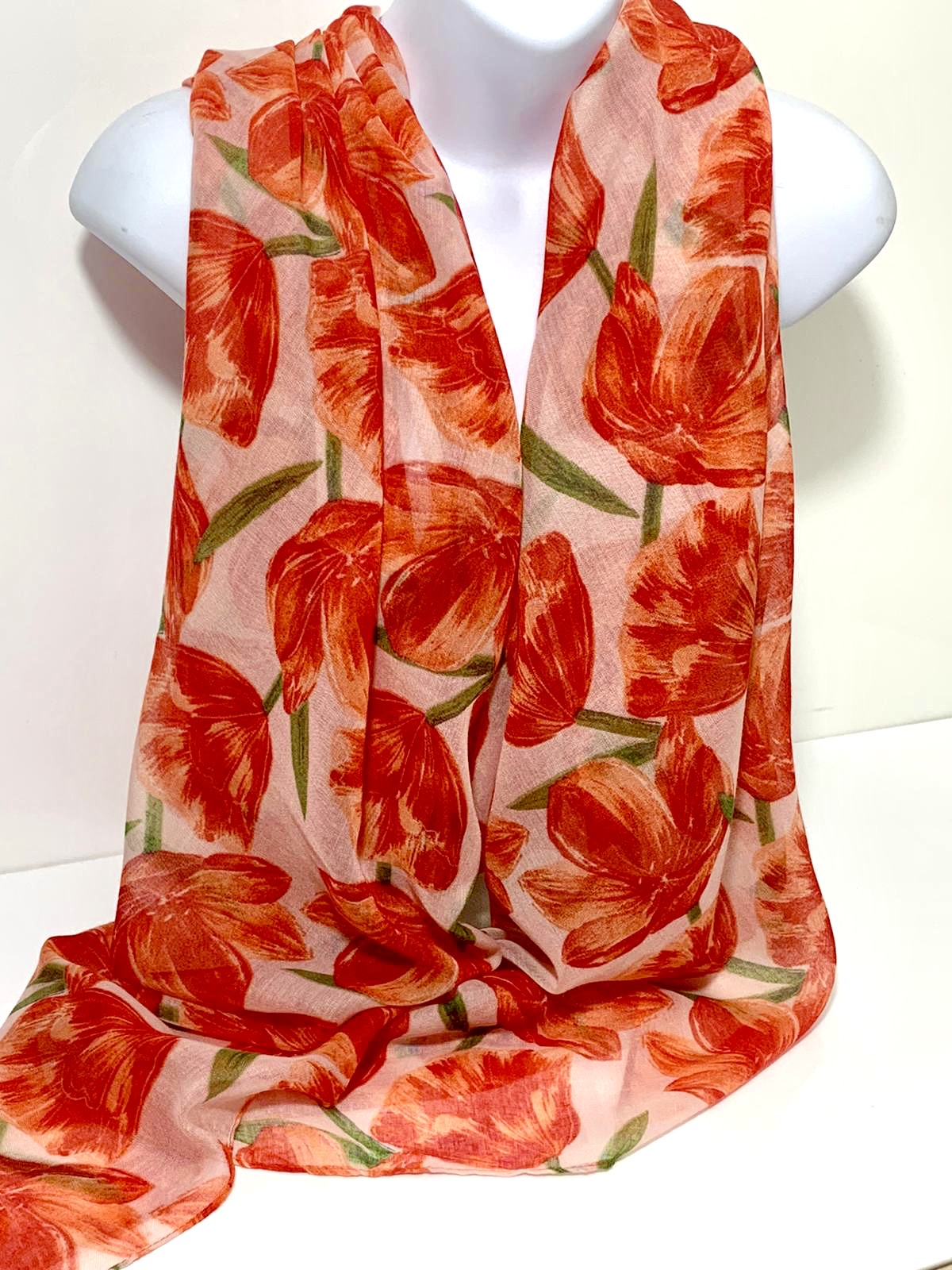 Lily printed scarf