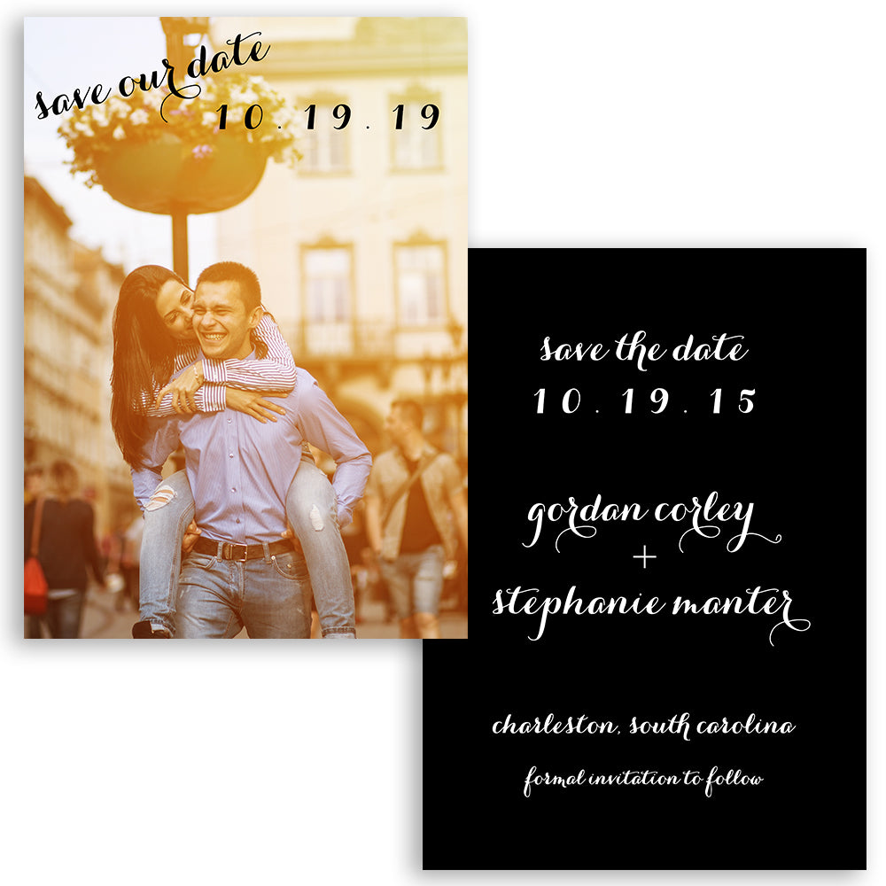Bold Save the Date