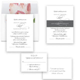 Elegant Grey Wedding Invitation - Flat Printing