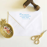 Modern Return Address Stamp