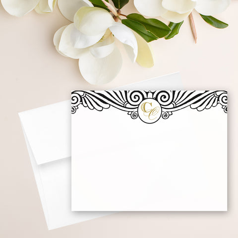 Art Deco Note Card