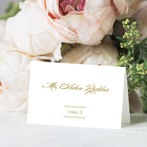 Charleston Place Card