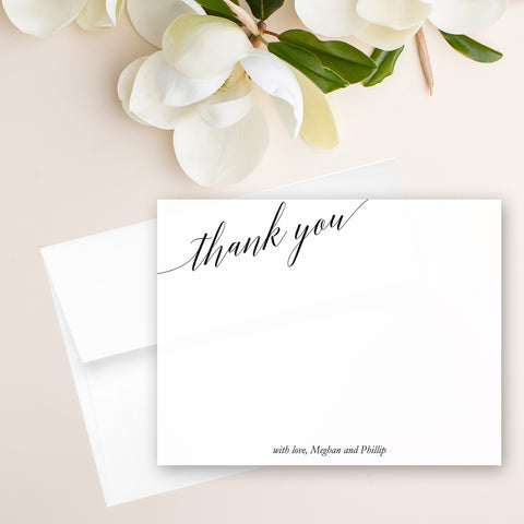 Modern Elegant Note Card