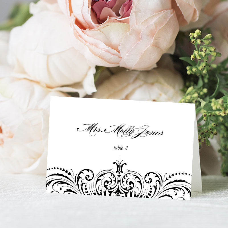 Great Gatsby Place Card